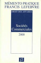 Societes Commerciales 2000 - Intérieur - Format classique