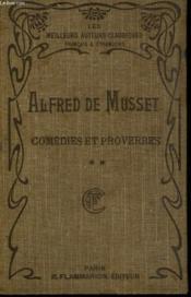 Comedies Et Proverbes. Tome 2. - Couverture - Format classique