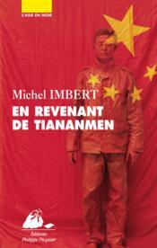 En revenant de Tiananmen - Couverture - Format classique