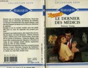 Le Dernier Des Medicis - One Man'S Destiny - Couverture - Format classique