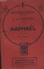 Raphael - Tome Premier. - Couverture - Format classique