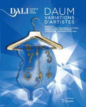 Daum, variations d'artistes - Couverture - Format classique