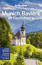 Munich, la bavière et la forêt noire (3e édition) - Couverture - Format classique