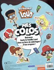 Bienvenue chez les Loud ; mes colos - 4ème de couverture - Format classique