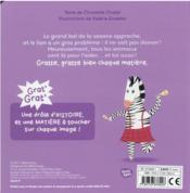 Grat' grat' ; la samba de la savane - 4ème de couverture - Format classique