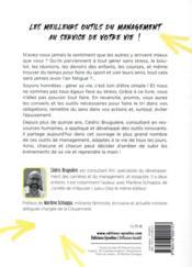 Je manage ma vie ; objectifs, pensées, charge mentale, vie pro/vie perso, projets... - 4ème de couverture - Format classique