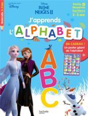 J'apprends l'alphabet avec la Reine des Neiges 2 - Couverture - Format classique