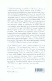 Monsieur Dudron - 4ème de couverture - Format classique