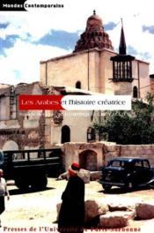 Les Arabes Et L'Histoire Creatrice - Couverture - Format classique
