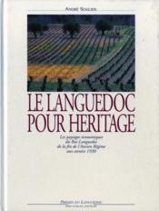 Languedoc Pour Heritage - Couverture - Format classique