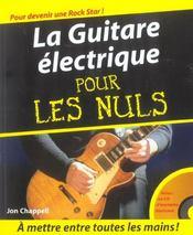 La guitare électrique pour les nuls - Intérieur - Format classique