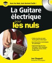 La guitare électrique pour les nuls - Couverture - Format classique