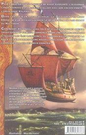 Les chroniques iliatiques t.1 ; l'arche des tempêtes - 4ème de couverture - Format classique