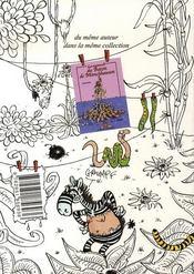 Raoul Pétard le broussard t.1 ; swing colonial - 4ème de couverture - Format classique