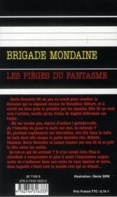 Brigade mondaine t.313 ; les pièges du fantasme - 4ème de couverture - Format classique