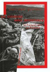 Un Genocide Sans Importance : La Francafrique Au Rwanda - Intérieur - Format classique