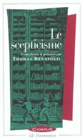 Le scepticisme - Couverture - Format classique
