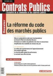Revue Actualite Commande Contrats Publics N.114 - Couverture - Format classique