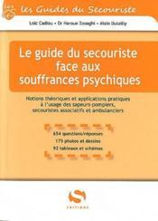 Le guide du secouriste face aux souffrances psychiques - Couverture - Format classique