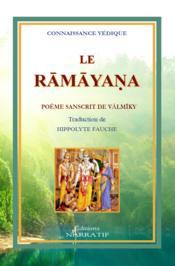 Le ramayana de valmiky. traduction de hippolyte fauche - Couverture - Format classique