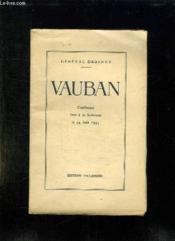 Vauban. Conference Faite A La Sorbonne Le 14 Juin 1933. - Couverture - Format classique