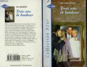 Trois Ans De Bonheur - The Three Year Itch - Couverture - Format classique