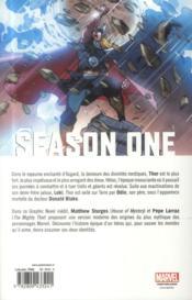 Thor season one - 4ème de couverture - Format classique