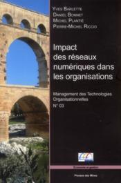 Impact des réseaux numériques dans les organisations - Couverture - Format classique