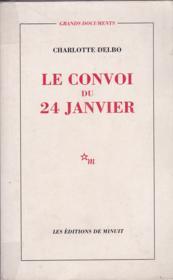 Le convoi du 24 janvier. - Couverture - Format classique