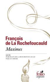 Maximes - Couverture - Format classique