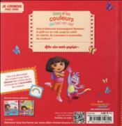 Dora et les couleurs de l'arc-en-ciel - 4ème de couverture - Format classique
