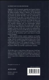 Indécence manifeste - 4ème de couverture - Format classique