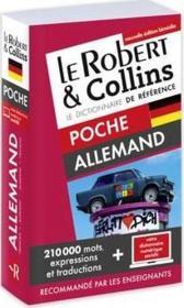 LE ROBERT & COLLINS ; POCHE ; dictionnaire allemand - Couverture - Format classique