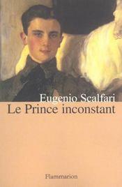 Le Prince Inconstant - Intérieur - Format classique