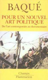 Pour un nouvel art politique - de l'art contemporain au documentaire - Intérieur - Format classique