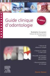 Guide clinique d'odontologie (3e édition) - Couverture - Format classique