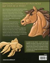 Intarsia ; travail du bois pour débutants - 4ème de couverture - Format classique