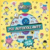 Les smileys ; 250 autocollants - Couverture - Format classique