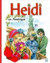 Heidi en Amérique - Couverture - Format classique