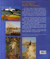 La merveilleuse provence des peintres - 4ème de couverture - Format classique