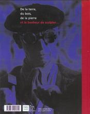 Zadkine - 4ème de couverture - Format classique