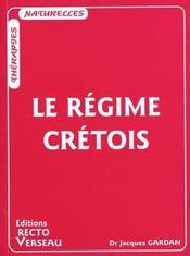 Le régime crétois - Intérieur - Format classique