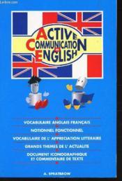 Active communication in english - Couverture - Format classique