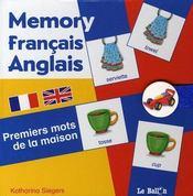 Memory Premiers Mots De La Maison - Intérieur - Format classique