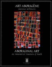 Art Aborigene Jouvence Millenaire - Couverture - Format classique