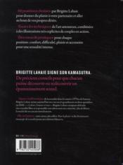 Kamasutra by Brigitte Lahaie - 4ème de couverture - Format classique