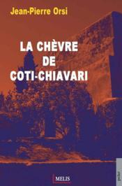 La chèvre de Coti-Chiavari - Couverture - Format classique