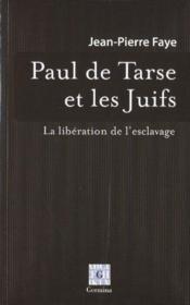 Paul de Tarse et les juifs - Couverture - Format classique