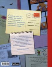Ton livre à écrire t.1 - 4ème de couverture - Format classique