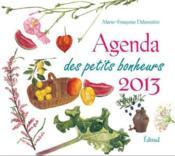 Agenda des petits bonheurs 2013 - Couverture - Format classique